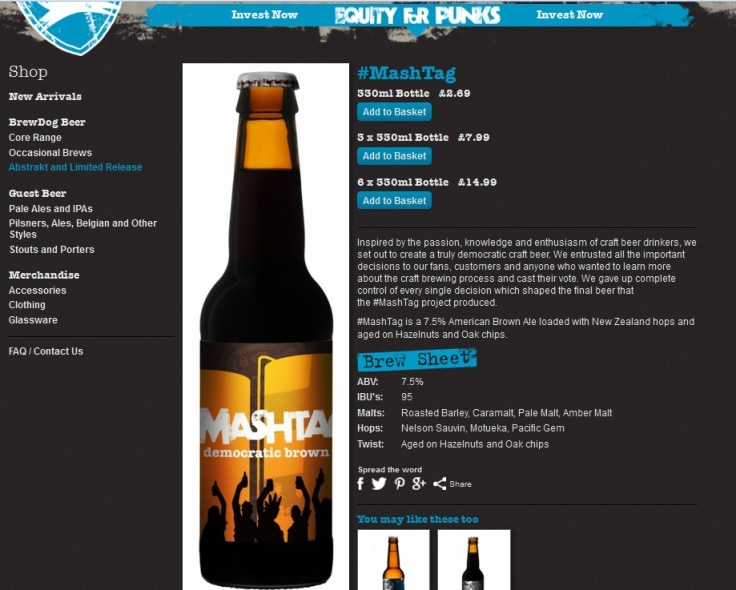 Click on the picture to be taken to BrewDog's website.
